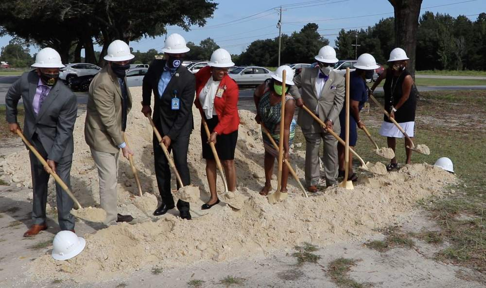 Allendale County Schools hosts groundbreaking for primary wing addition