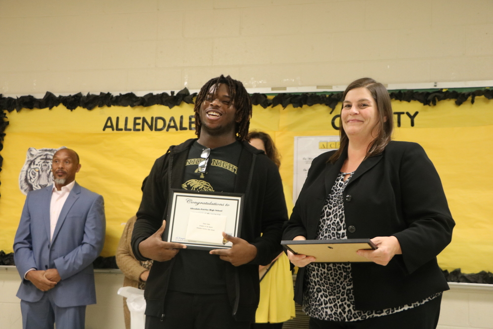 STUDENT RECOGNITIONS – ACS JANUARY COMMUNITY MEETING