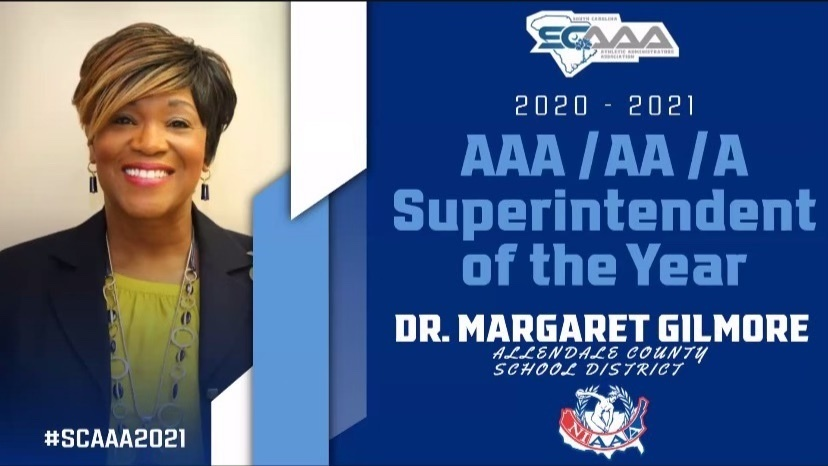 Dr. Gilmore named Superintendent of the Year