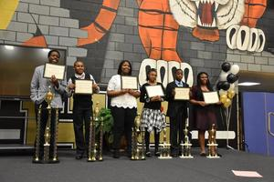 Allendale-Fairfax Middle students find voices during MLK Oratory Competition
