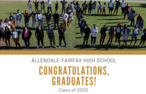 Congratulations, AFHS Class of 2020!