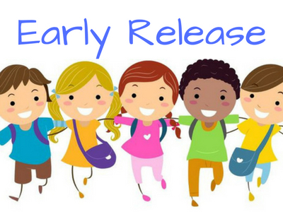 Thursday, September 27th will be an early release day.  Students will be dismissed at 1:00 p.m.  Car riders should be picked up by 1:30 p.m.  Thanking you in advance for your cooperation!  Go baby tigers!🐯