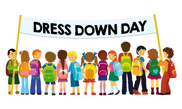Dress Down Fridays will begin October 4, 2019 - April 10, 2020.  Student must donate $1.00 to Relay for Life to dress down!  Thank you for your continued support and go Baby Tigers!