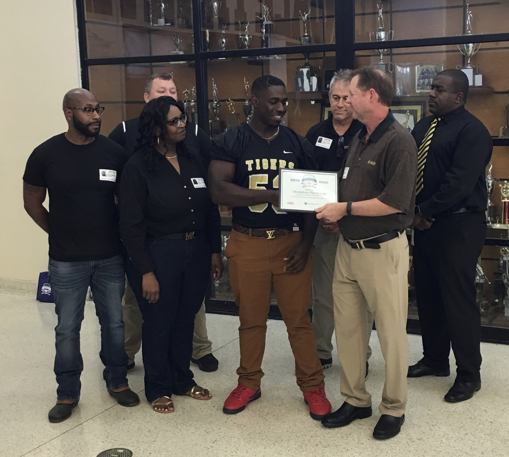 WBJF Scholar Athlete — Javarius Youmans