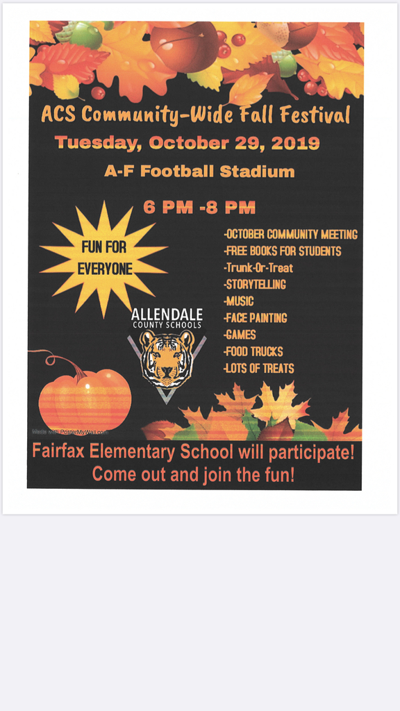 ACS Community-Wide Fall Festival 2019