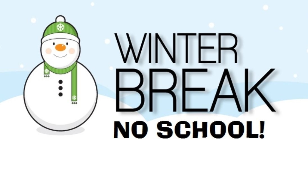 Fairfax Elementary- December 23rd - January 3rd. School reopens on Monday, January 6th.