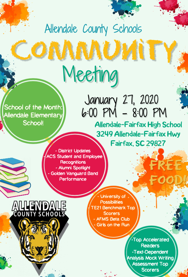 January Community Meeting
