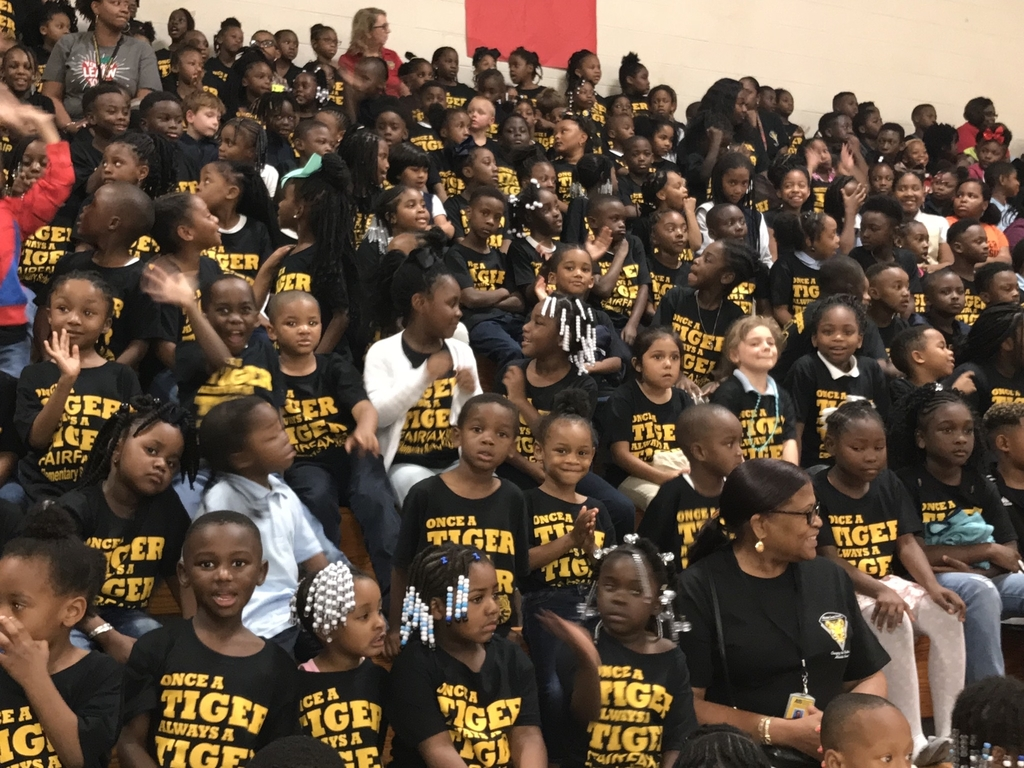 Wear black and gold- Tiger Pride!