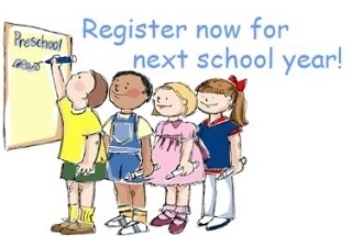Register your 1st and 2nd grade for next school term 2020-21 NOW!  The school personnel will provide assistance on tomorrow, Wednesday, June 10th!